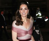 Kate Middleton Dazzles In A Two-Toned Gucci Gown For Museum Gala