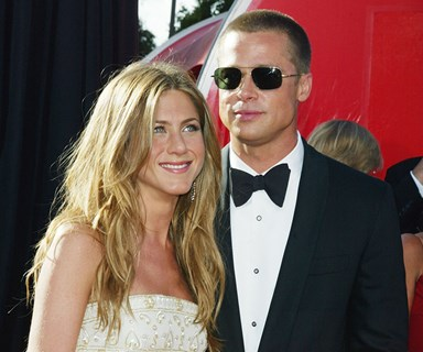 """Brad Pitt And Jennifer Aniston Reportedly Mended Fences """"Three Years Ago"""""""