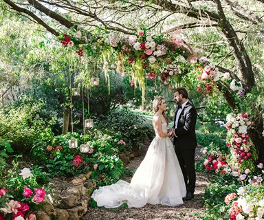 Real Bride: Dannika And James' Magical Woodland Ceremony In Margaret River