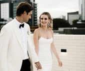Real Bride: TJ And Chris' Ultra-Modern Affair