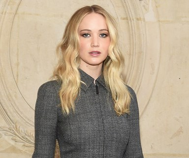 Jennifer Lawrence Debuts Her Engagement Ring At The Dior Show