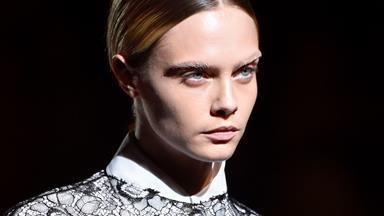 Cara Delevingne Shows Off A Drastic New Haircut At Dior