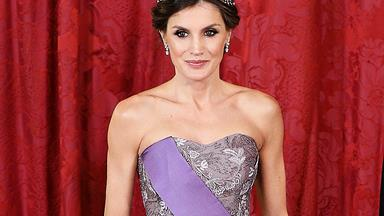 Queen Letizia Wows In One Of Her Most Extravagant Dresses Ever