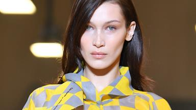 Bella Hadid Walked The Off-White Runway Sick, And Still Looked This Good