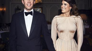 The Iconic Royal Who Inspired Princess Eugenie's Reception Gown