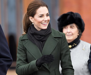 Kate Middleton And Prince William's Rare Show Of PDA At Kensington Palace