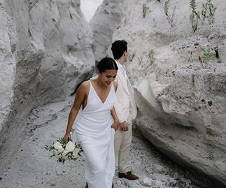 Real Bride: This Minimalist Bride Got Married On A Tiny Italian Island