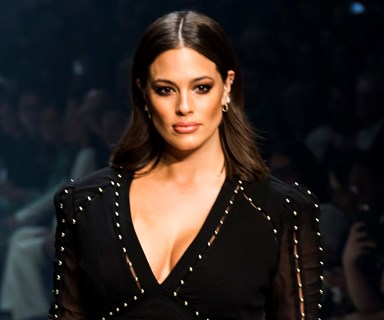 Ashley Graham Just Wore A Head-Turning Take On The Naked Dress At VAMFF
