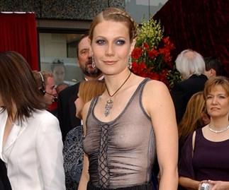 Gwyneth Paltrow Oscars 2002