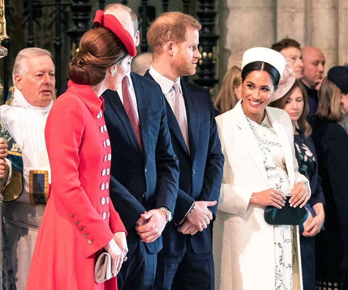 Royals attend the 2019 Commonwealth Day service.