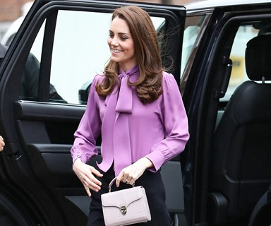 Kate Middleton Goes Two-For-Two In Gucci And Alexander McQueen