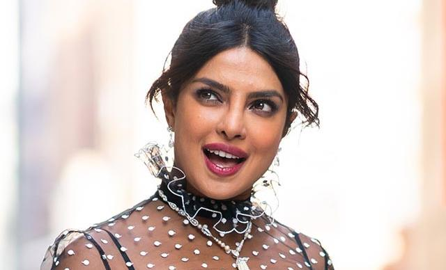 Priyanka Chopra Steps Out In A Very Unique Take On The Naked Dress Trend