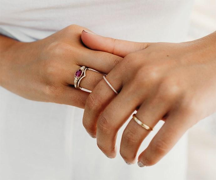 Ruby ring.