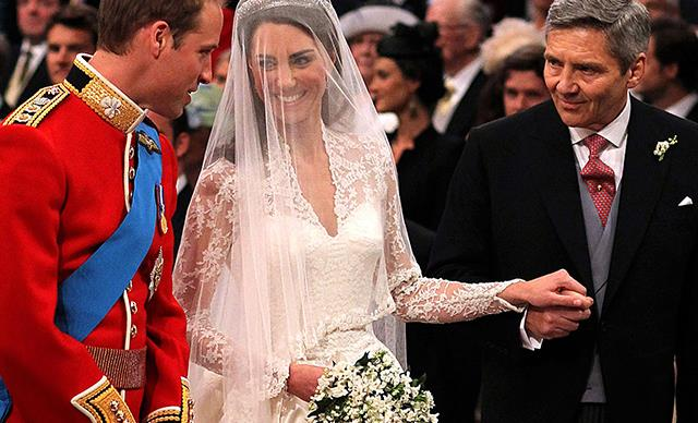 The Sweet Joke Prince William Made To Kate Middleton's Father After He Walked Her Down The Aisle