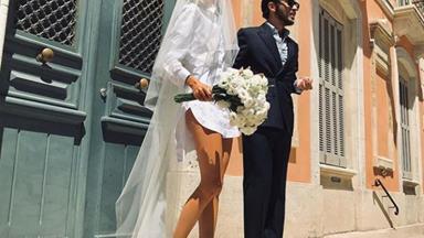 These Short Wedding Dresses Will Make You Consider Bringing Up That Hem