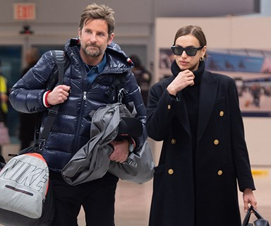 Bradley Cooper And Irina Shayk's Adorable Photobomb Moment