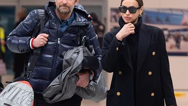Bradley Cooper And Irina Shayk's Adorable Photobomb Moment