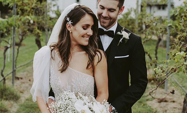 Real Bride: Josh And Alena's Rustic Hunter Valley Garden Party