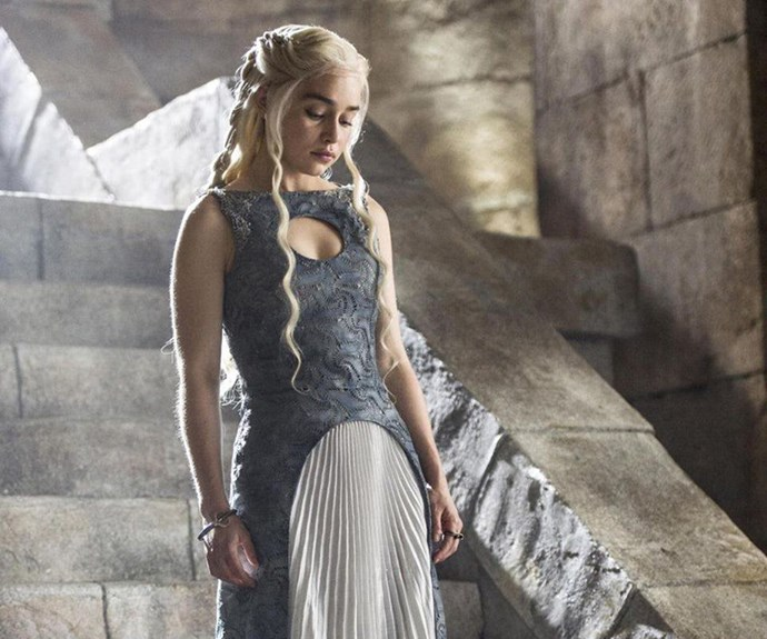 Daenerys Targaryen in Game of Thrones.