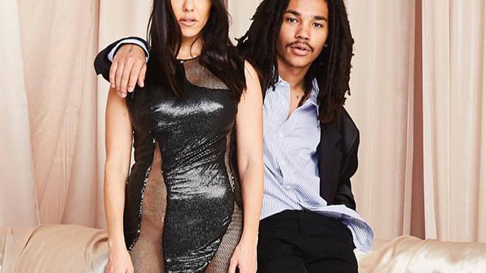 Kourtney Kardashian and Luka Sabbat.