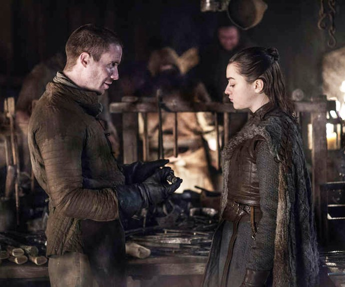 Arya and Gendry in 'Game of Thrones.'