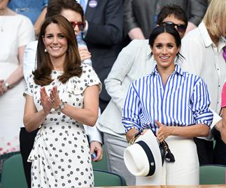 Kate Middleton and Meghan Markle.