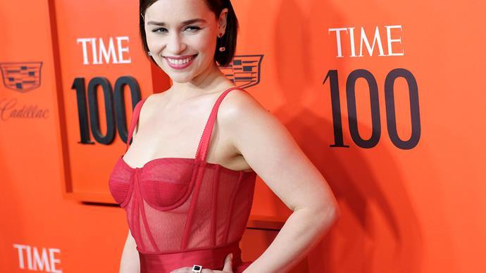 Time 100 Gala 2019 Best Red Carpet Look Emilia Clarke