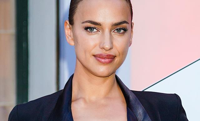 Irina Shayk Makes An Exposed Bra Look Impossibly Chic In Paris