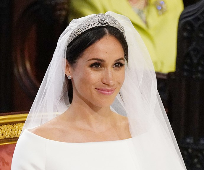 Meghan Markle on her wedding day.