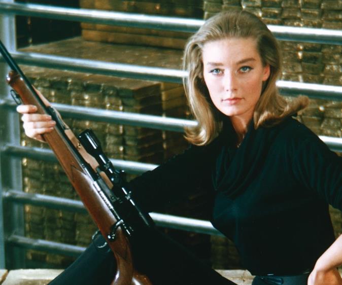 Bond girl.