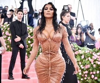 Kim Kardashian at the 2019 Met Gala.