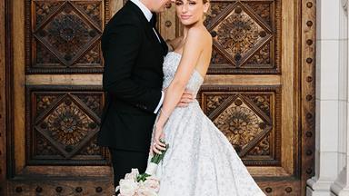 Real Bride: Katia And Tom's Extravagant White Tie Affair