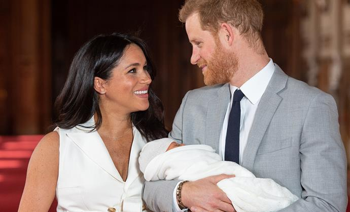 Prince Harry Meghan Markle First Baby Photos 2019
