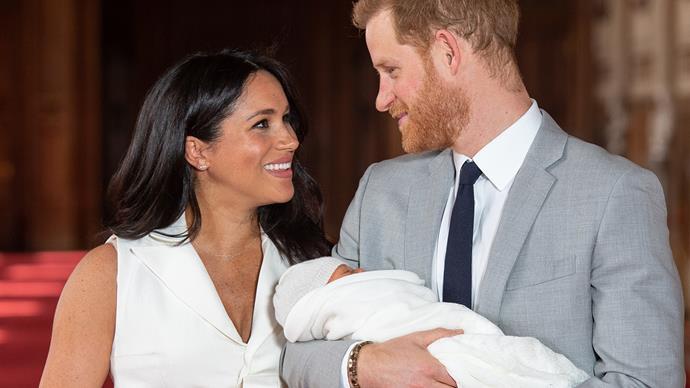 Prince Harry Meghan Markle First Baby Photos 2019