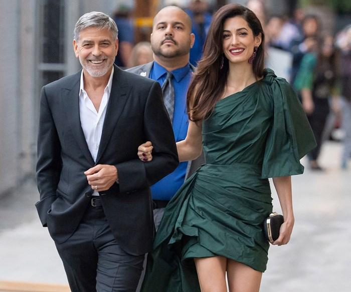 Amal Clooney Oscar De La Renta