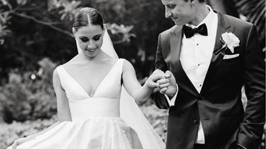 Real Bride: Elizabeth And Samuel's Elegant Garden Wedding