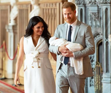 Meghan And Harry Share A New Photo Of Baby Archie For Mother's Day