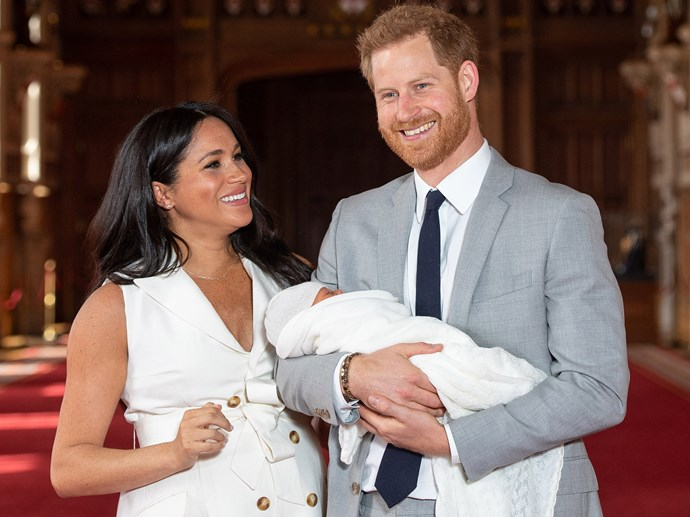 Prince Harry Meghan Markle Archie Royal Baby Name Hinted At