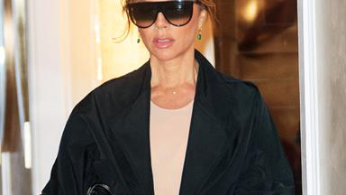 Victoria Beckham Gives Leggings Her Fashionable Tick Of Approval