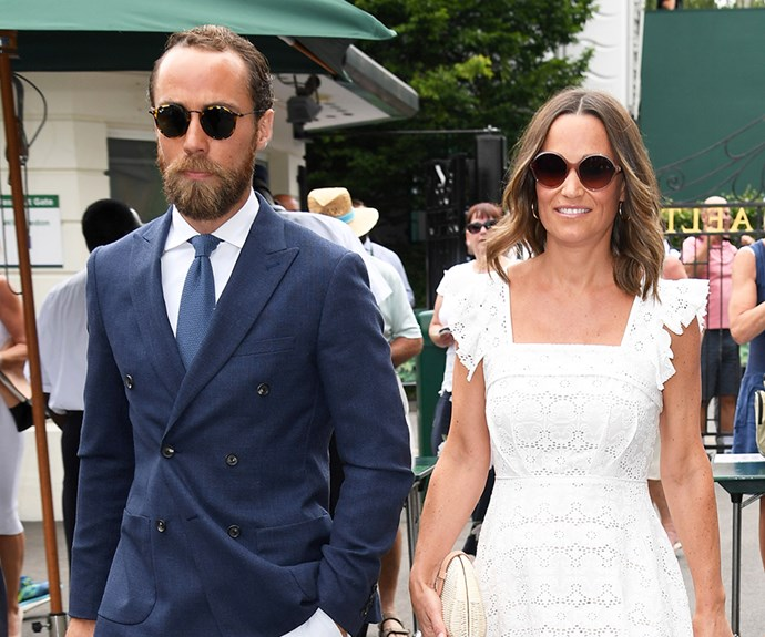 James Middleton and Alizee Thevenet.