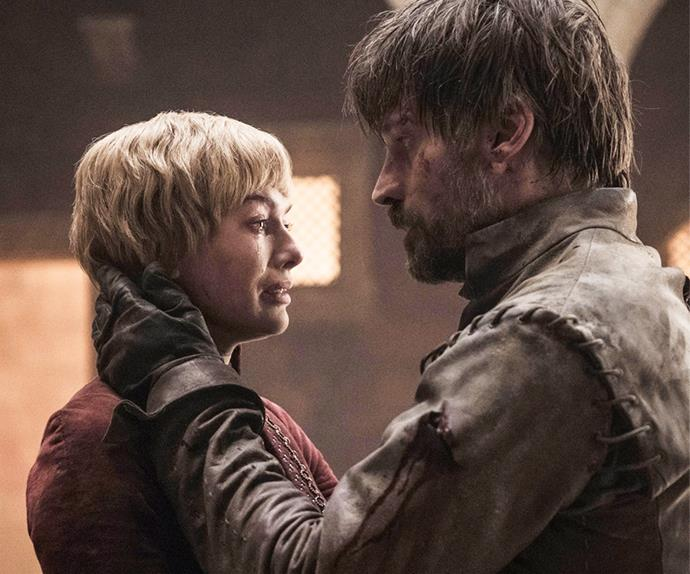 Jaime and Cersei Lannister on 'Game of Thrones.'