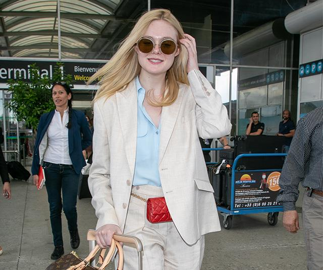 Celebrity airport style Cannes Film Festival