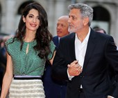 Amal Clooney Just Brought The '60s Back In A Stunning Yellow Airport Look