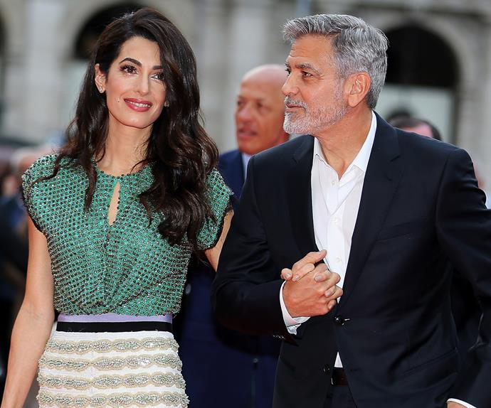 Amal Clooney George Clooney Airport Style