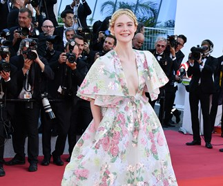 Elle Fanning at the Cannes Film Festival 2019.