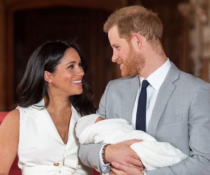 Prince Harry Meghan Markle Archie Photo Call