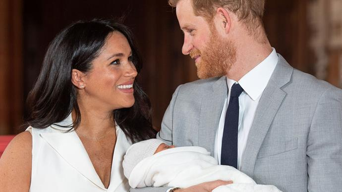 Prince Harry Meghan Markle Archie Photo Call