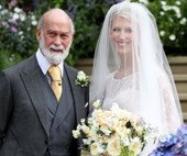 Lady Gabriella Windsor Wore A Second Wedding Dress That Was Even More Heavenly Than Her First