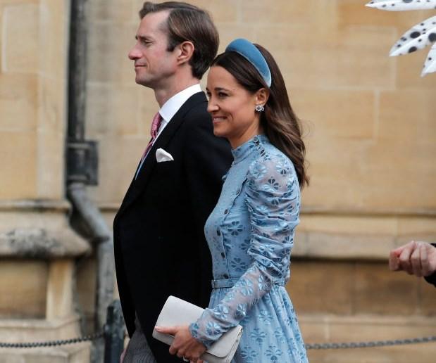 Wedding Guests Lady Gabriella Thomas Kingston Royal Wedding