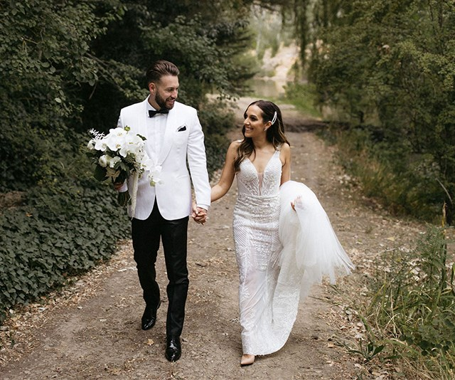 Real Bride: Maree And James' Luxe-Meets-Rustic Celebration